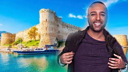 Arash Kıbrıs'ı sevdi!