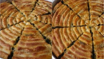 En kolay çarşaf böreği nasıl yapılır? Çarşaf böreğinin püf noktası nedir?