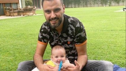Alişan'dan oğlu Burak ile ilk yaz pozu!