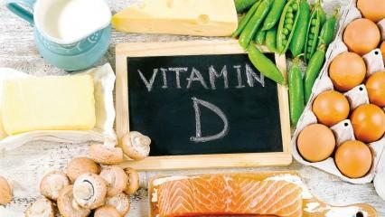 D vitamini eksikliğinin yol açtığı durumlar nelerdir? D vitamini hangi besinlerde bulunur?
