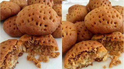 Kadayıflı kurabiye tatlısı nasıl yapılır? Enfes kadayıflı kurabiye tarifi