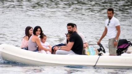 Volkan Demirel ve ailesi tatil sezonunu açtı!