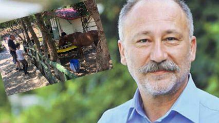 Altan Erkekli oğluyla Sarıyer at çiftliğinde görüntülendi!