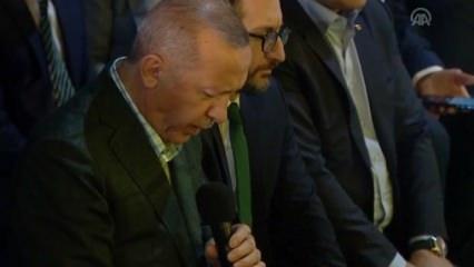 Başkan Erdoğan'dan Kuran-ı Kerim tilaveti