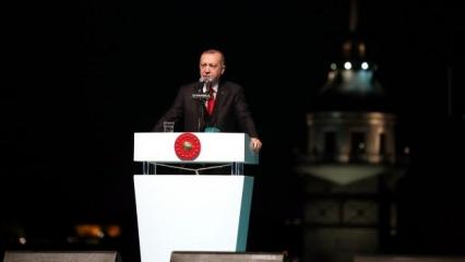 Erdoğan böyle müjdeledi: Bambaşka kapılar açılacak!