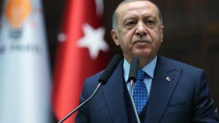 Başkan Erdoğan'dan 'Kadir Gecesi' mesajı