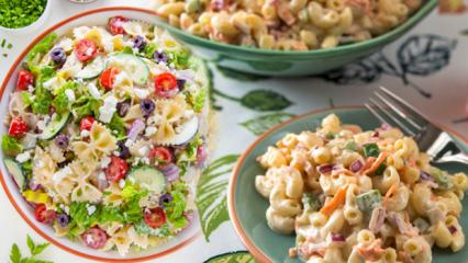 Makarna salatası kilo aldırır mı? Diyet makarna salatası tarifi! Yoğurtlu makarna kalorisi
