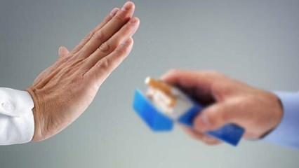 Balkonda sigara içmek yasaklandı