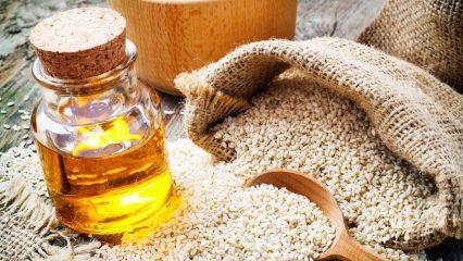Susam yağının cilde faydaları nelerdir? Susam yağı cilde nasıl uygulanır?