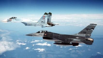 Bomba şakası yaptı savaş uçakları kalktı!