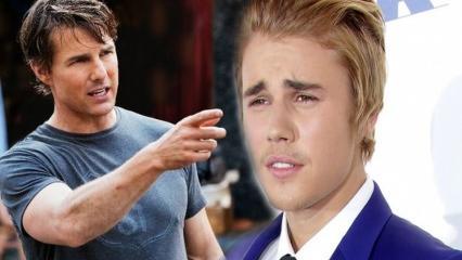 Justin Bieber Tom Cruise'a meydan okudu! 'Dövüşmek istiyorum'