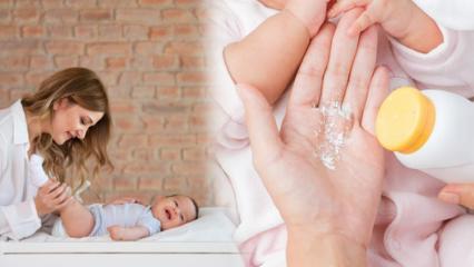 Pişik neden olur? Bebeklerde pişiğe 10 bitkisel çözüm