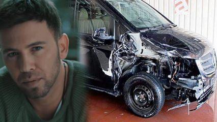 Şarkıcı Berksan ölümden döndü! Bir trafik kazası daha!
