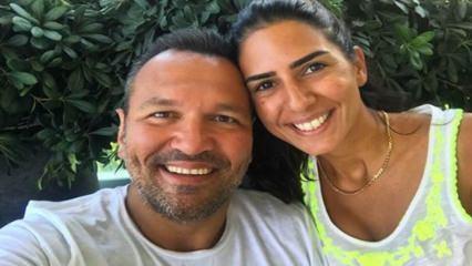 Ali Sunal'ın eşi Nazlı Kurbanzade tatilde aşerince...