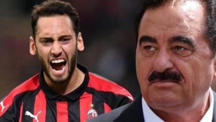 İbrahim Tatlıses'ten şaşırtan Hakan Çalhanoğlu yorumu!