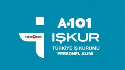 İŞKUR'dan A101 bünyesine personel alımı! Başvuru ekranı ve şartları...