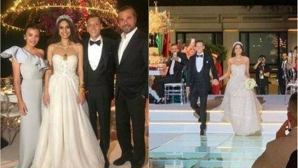 Mesut Özil ve Amine Gülşe çiftinin nikahı bereketli geldi!