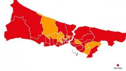 23 Haziran 2019 İstanbul İlçeleri seçim sonuçları