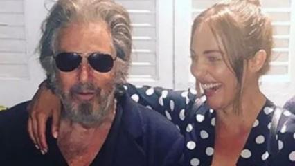 Meryem Uzerli dünya starı Al Pacino ile buluştu!