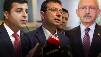 Telaşa kapıldılar! PKK ile aynı karede olunca sorun yoktu ama değil mi?