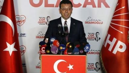 Seçim sonuçları sonrası İmamoğlu'dan ilk açıklama