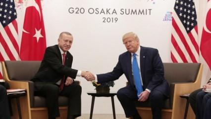 Erdoğan - Trump görüşmesi sonrası ABD'deki klik zayıfladı