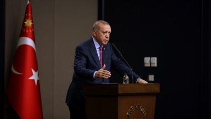 Erdoğan'dan ABD'ye: Böyle bir uygulama başladıysa, onu bilmiyorum!