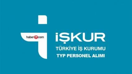 İŞKUR TYP kapsamında 502 personel alımı bugün sona eriyor! Başvuru sayfası..