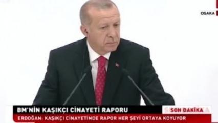 Türkiye'yi tehdit etmişlerdi! Erdoğan böyle cevap verdi