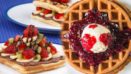 Waffle kaç kalori ve kilo aldırır mı? Tost makinesinde kolay waffle nasıl yapılır?