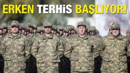 Yeni Askerlik Sistemi ile ilgili kanun teklifi kabul edildi! Erken terhisler...