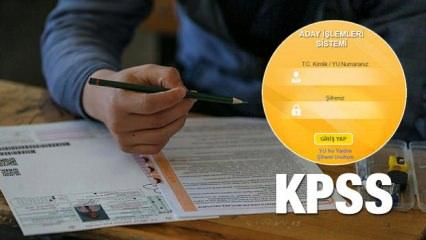 KPSS sınav yerleri: ÖSYM KPSS sınav giriş belgesi nasıl alınır?