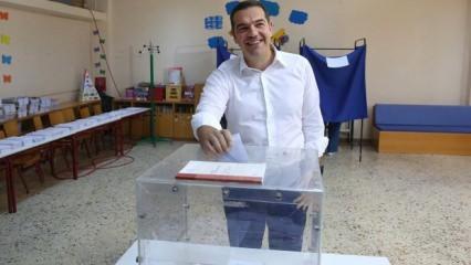 Seçimi kaybeden Çipras'tan açıklama