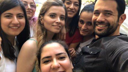 Keremcem fanları 'Kimse Bilmez' dizisinin setini bastı!