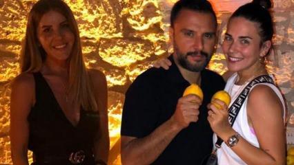 Alişan ve Buse Varol çifti tatilde Eda Erol'la karşılaştı!