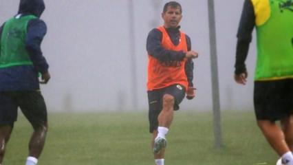 4 yıl aradan sonra Emre Belözoğlu antrenmanda