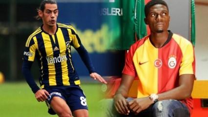 G.Saray ve F.Bahçe'nin yeni transferleri aynı takımda!