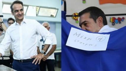 Yunanistan'daki seçime katılım oranı dikkat çekti!