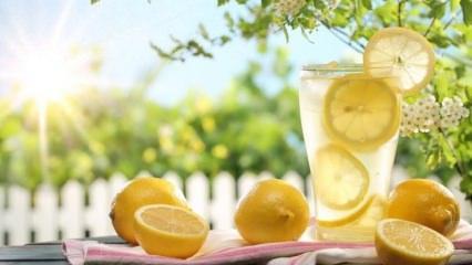 Zayıflatan limonata diyeti nasıl yapılır? Hızlı kilo verdiren farklı limonata tarifi