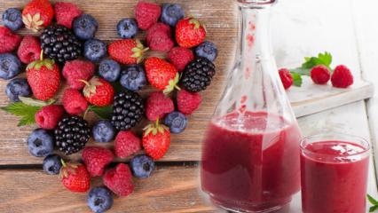Ahududunun faydaları nelerdir? Kan yapıcı besin olan ahududu! Ahududu suyu içerseniz...