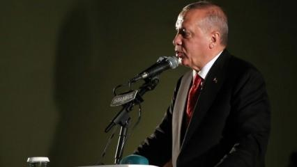 Cumhurbaşkanı Erdoğan'dan Erbil'deki saldırı hakkında açıklama