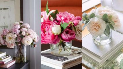 Evde yapay çiçekler nasıl dekore edilir?