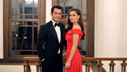 Fahriye Evcen ile Murat Yıldırım'ın oynadığı 'Sonsuz Aşk' filmi tarihe geçti!
