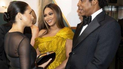 Beyonce ile Meghan Markle buluşması!