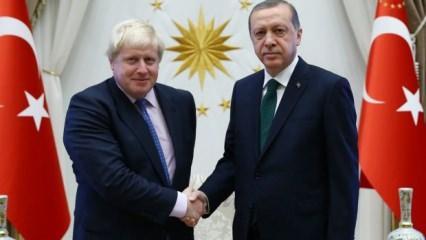 Cumhurbaşkanı Erdoğan'dan Boris Johnson açıklaması