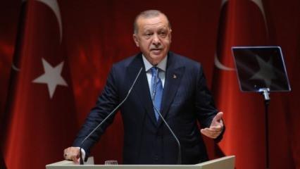 Cumhurbaşkanı Erdoğan'dan olağan kongre kararı