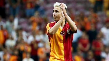 Emre Mor, Galatasaray'a çabuk ısındı!