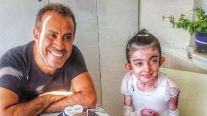 Haluk Levent'ten kelebek hastası Elfida'ya duygulandıran sürpriz