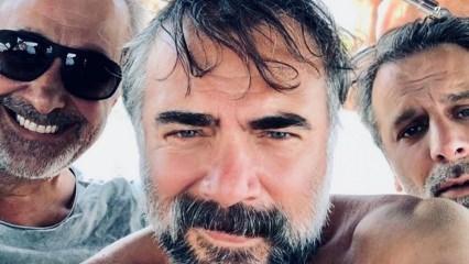 Ozan Güven ve Oktay Kaynarca beraber tatil yapıyor!