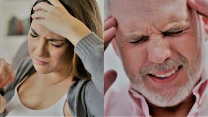 Baş ağrısı çeşitleri ve bölgeleri! Şiddetli baş ağrısı sebepleri tedavisi